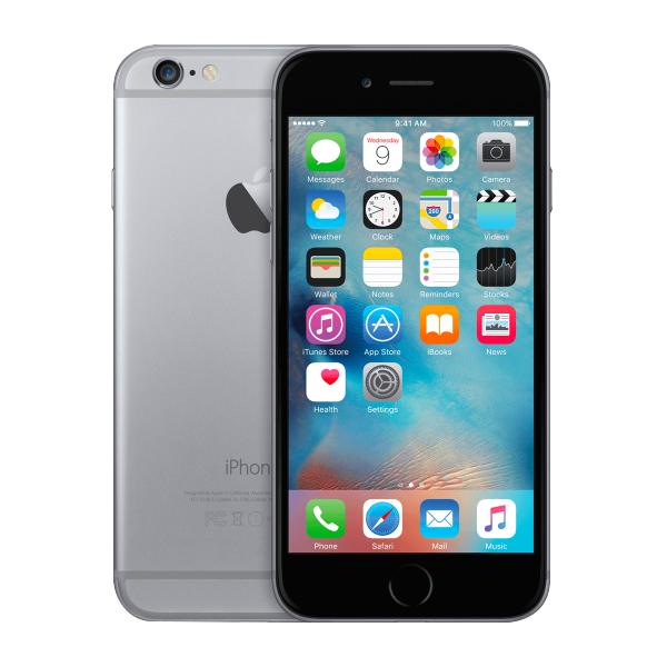 Refurbished Iphone 6 space gray
