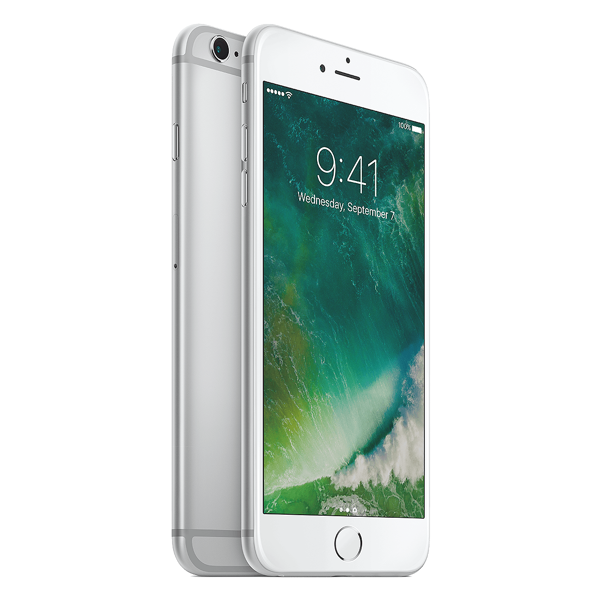 Refurbished Iphone 6s plus silver