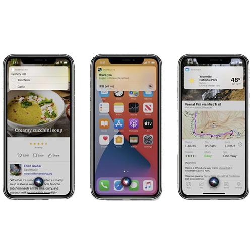 siri iOS 14i