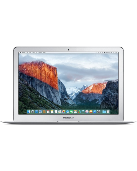 MacBook Air 13-inch Core i5 1.6 GHz 256 GB SSD 8 GB RAM Zilver (Early 2016)