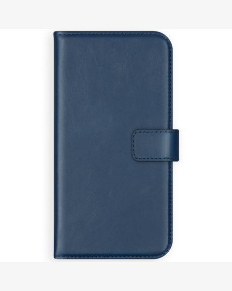 Echt Lederen Booktype Samsung Galaxy S10 - Blauw - Blauw / Blue