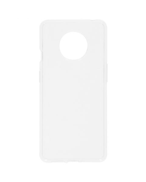 Clear Backcover OnePlus 7T - Transparant - Transparant / Transparent