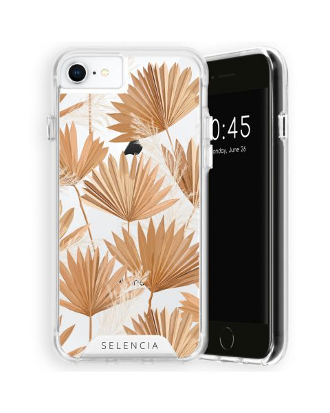 Extra Beschermende Backcover iPhone SE (2020) / 8 / 7 / 6(s) - Palm Leaves