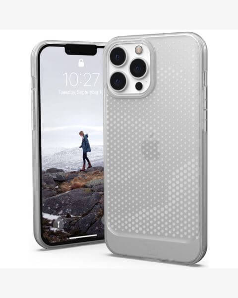 Lucent U Backcover iPhone 13 Pro Max - Ice - Transparant / Transparent