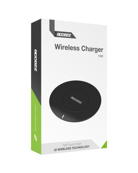 Qi Soft Touch Wireless Charger - 10 Watt - Zwart - Zwart / Black