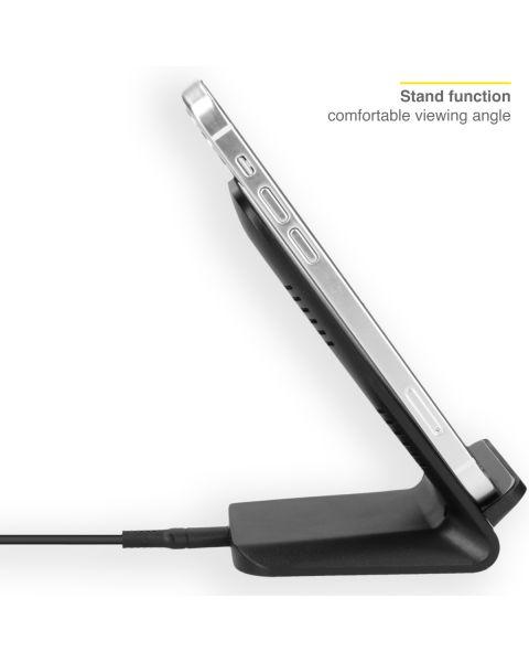 Qi Desk Wireless Charger - 10 Watt - Zwart - Zwart / Black