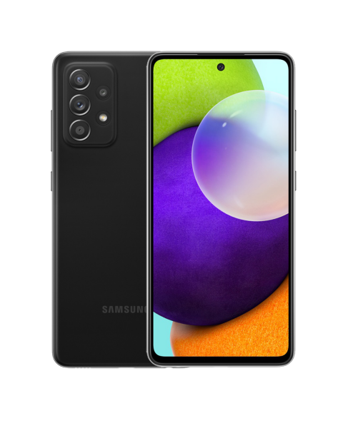 Refurbished Samsung Galaxy A52 4G 128GB Zwart