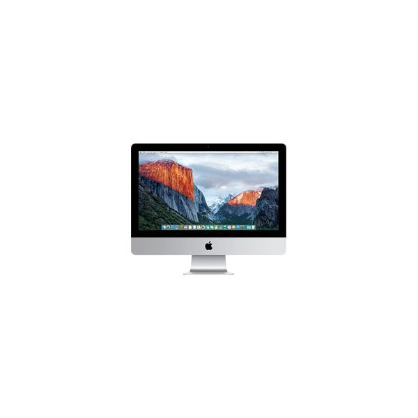 iMac 21-inch Core i5 2.8 GHz 256 GB SSD 8 GB RAM Zilver (Late 2015)