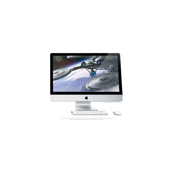 iMac 27-inch Core i7 2.8 GHz 2 TB HDD 32 GB RAM Zilver (Late 2009)