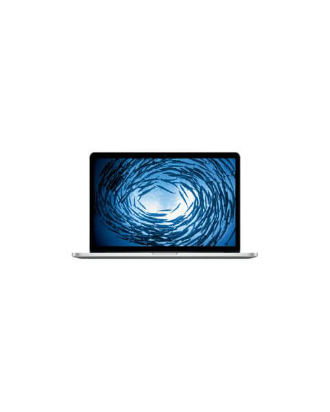 MacBook Pro 15-inch Core i7 2.5 GHz 512 GB SSD 16 GB RAM Zilver (Mid 2015)