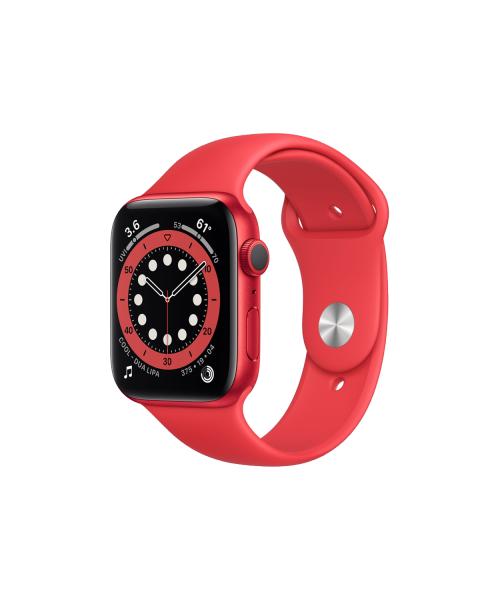 Refurbished Apple Watch Series 6 40mm | Aluminium Case Rood | rood sportbandje
