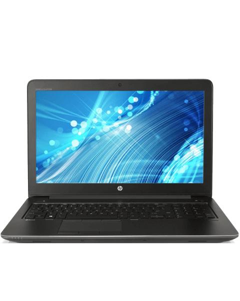 HP ZBook 15 G3 | 15.6 inch FHD | 6e generatie i7 | 500GB HDD | 16GB RAM | NVIDIA Quadro M1000M | QWERTY/AZERTY/QWERTZ