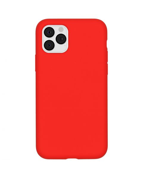 Liquid Silicone Backcover iPhone 11 Pro - Rood - Rood / Red