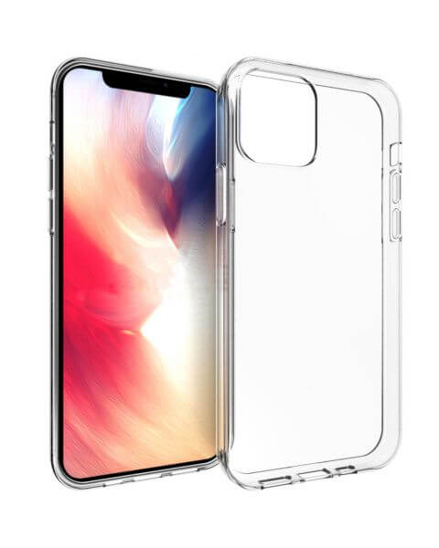 Clear Backcover iPhone 12 (Pro) - Transparant - Transparant / Transparent
