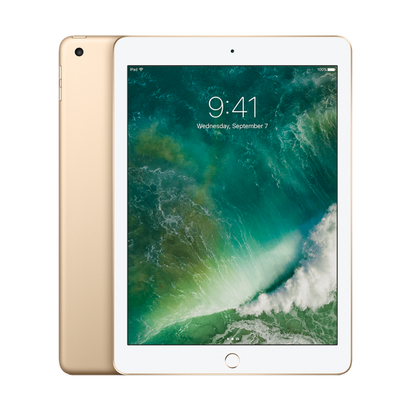 Refurbished iPad 2017 32GB WiFi goud