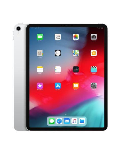 Refurbished iPad Pro 12.9 256GB WiFi + 4G zilver (2018)