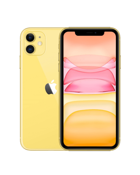 Refurbished iPhone 11 128GB geel
