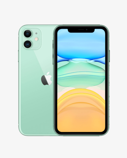 Refurbished iPhone 11 128GB groen