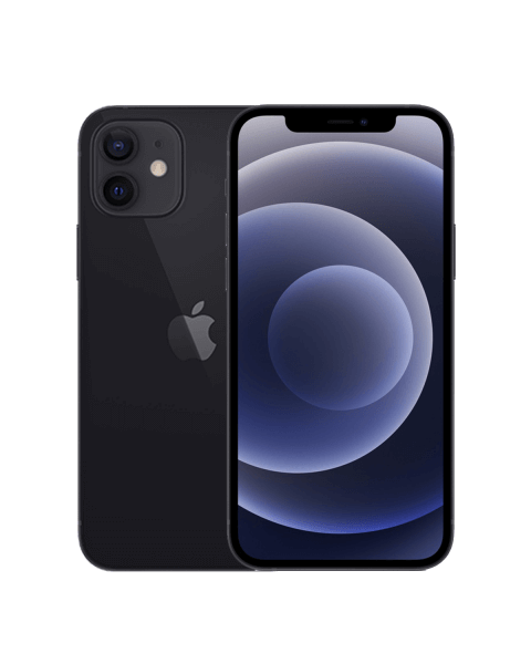 Refurbished iPhone 12 128GB zwart