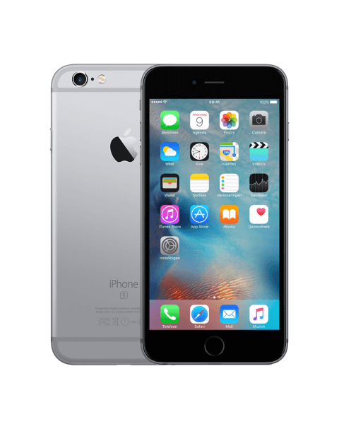 Refurbished iPhone 6S Plus 64GB zwart/space grijs