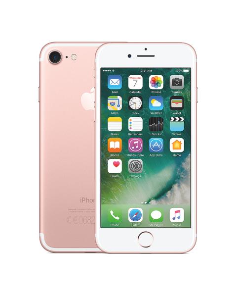 Refurbished iPhone 7 32GB rosé goud