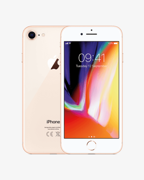 Refurbished iPhone 8 plus 64GB gold