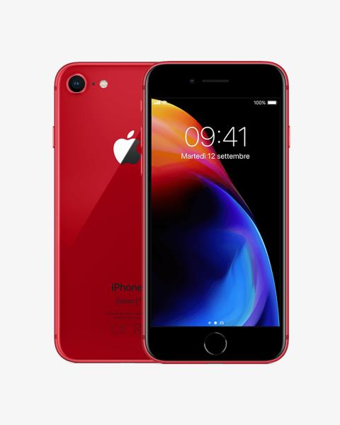Refurbished iPhone 8 plus 256GB red