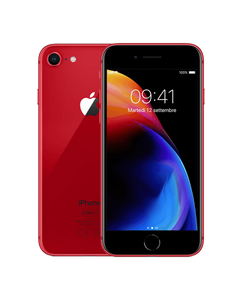Refurbished iPhone 8 plus 256GB red