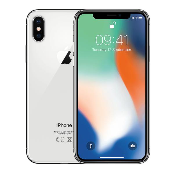 Refurbished iPhone X 256GB silver