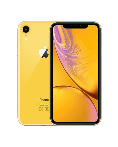 Refurbished iPhone XR 64GB geel