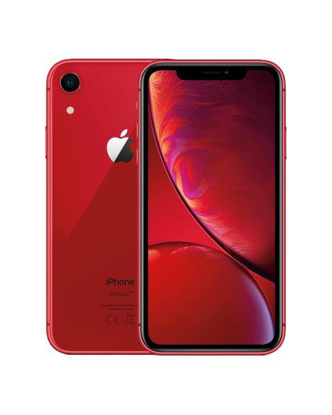 Refurbished iPhone XR 128GB rood