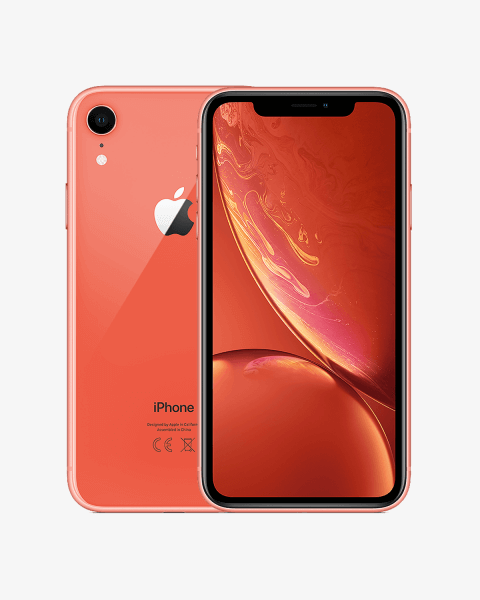 Refurbished iPhone XR 256GB roze