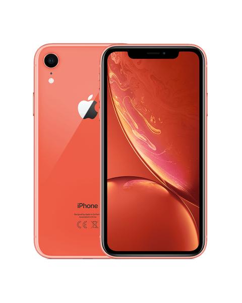 Refurbished iPhone XR 64GB roze