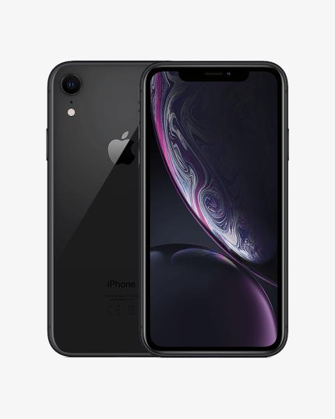 Refurbished iPhone XR 256GB zwart