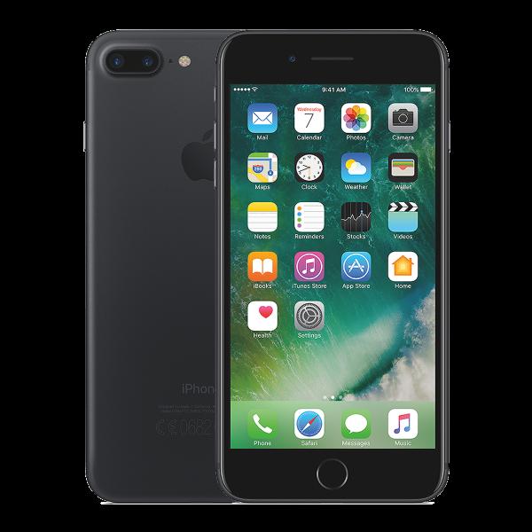 Refurbished Iphone 7 plus matzwart