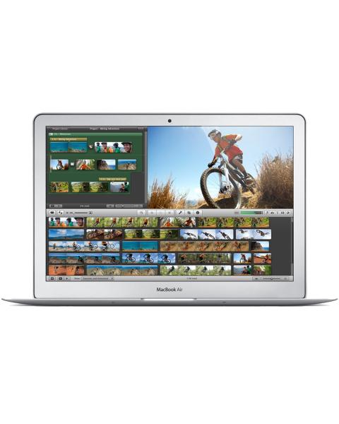 MacBook Air 13-inch Core i7 1.7 GHz 128 GB SSD 8 GB RAM Zilver (Mid 2013)