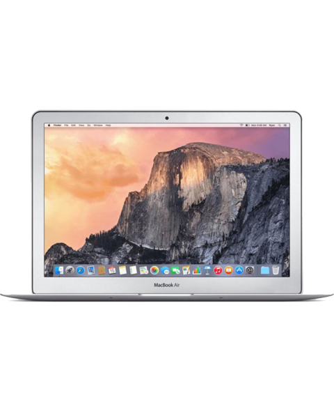 Macbook Air 13-inch | Core i5 1.6 GHz | 128 GB SSD | 4 GB RAM | Zilver | QWERTY/AZERTY/QWERTZ (Early 2015)
