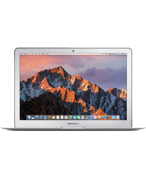 MacBook Air 13-inch | Core i5 1.8 GHz | 128 GB SSD | 8 GB RAM | Zilver | QWERTY/AZERTY/QWERTZ (2017)