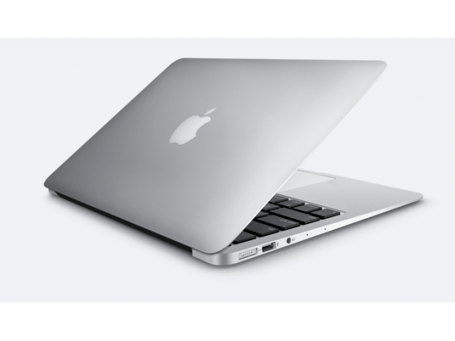 MacBook Air 13-inch Core i7 2.2 GHz 256 GB SSD 8 GB RAM Zilver (Early 2015) A-grade