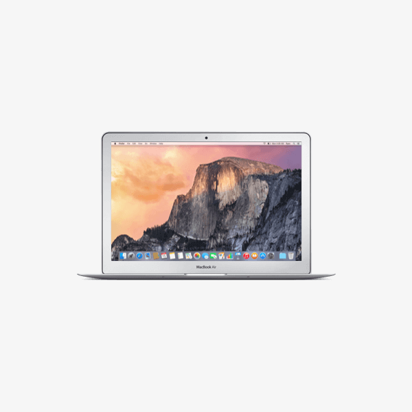 MacBook Air 13-inch Core i5 1.6 GHz 128 GB SSD 8 GB RAM Zilver (Early 2015)