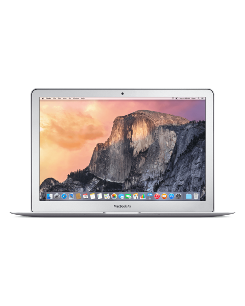 MacBook Air 13-inch Core i7 1.7 GHz 128 GB SSD 8 GB RAM Zilver (Mid 2013)
