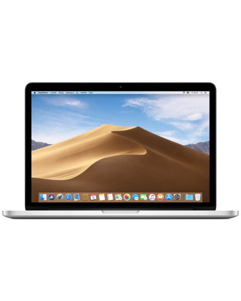 MacBook Pro 13-inch Core i5 2.3 GHz 256 GB SSD 8 GB RAM Zilver (2017)