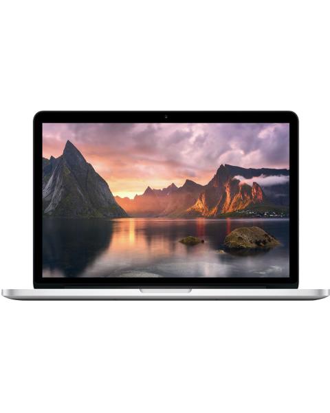 MacBook Pro 13-inch | Core i5 2.6 GHz | 256 GB SSD | 8 GB RAM | Zilver | QWERTY/AZERTY/QWERTZ (Mid 2014)