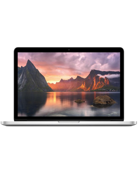 MacBook Pro 13-inch Core i5 2.7 GHz 256 GB SSD 8 GB RAM Zilver (Early 2015)
