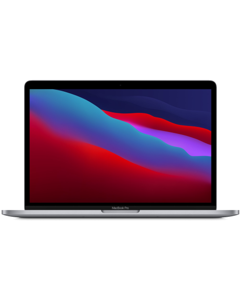 Macbook Pro 13-inch Touch Bar Core M1 2.3 GHz 512 GB SSD 8 GB RAM Spacegrijs (2020)