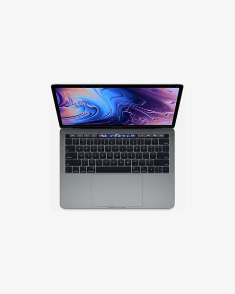 MacBook Pro 13-inch Core i5 2.4 GHz 256 GB SSD 8 GB RAM Zilver (2019)