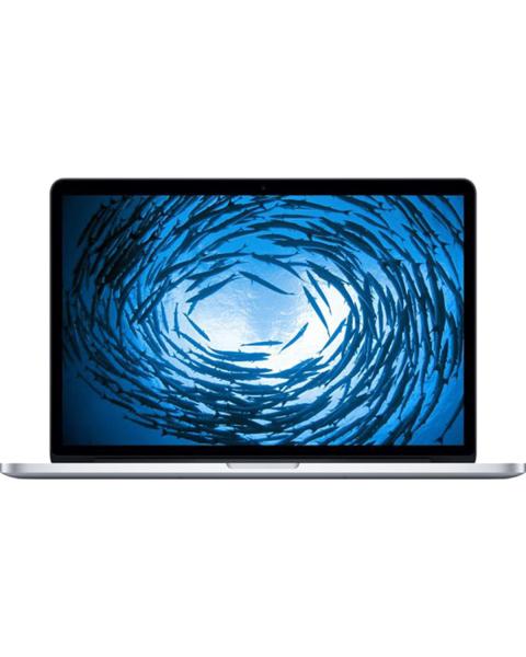 MacBook Pro 13-inch | Core i5 2.6 GHz | 128 GB SSD | 8 GB RAM | Zilver | QWERTY/AZERTY/QWERTZ (Mid 2014)