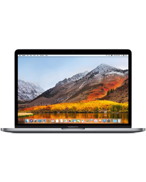 MacBook Pro 15-inch Core i7 2.8 GHz 256 GB SSD 16 GB RAM Spacegrijs (Mid 2017)