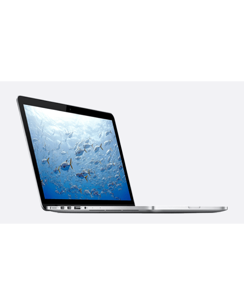 MacBook Pro 13-inch Core i5 2.8 GHz 512 GB SSD 8 GB RAM Zilver (Mid 2014)