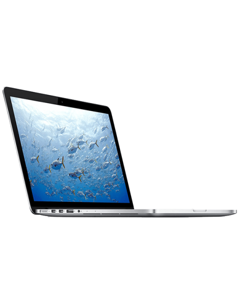 MacBook Pro 15-inch Core i7 2.3 GHz 256 GB SSD 8 GB RAM Zilver (Late 2013)